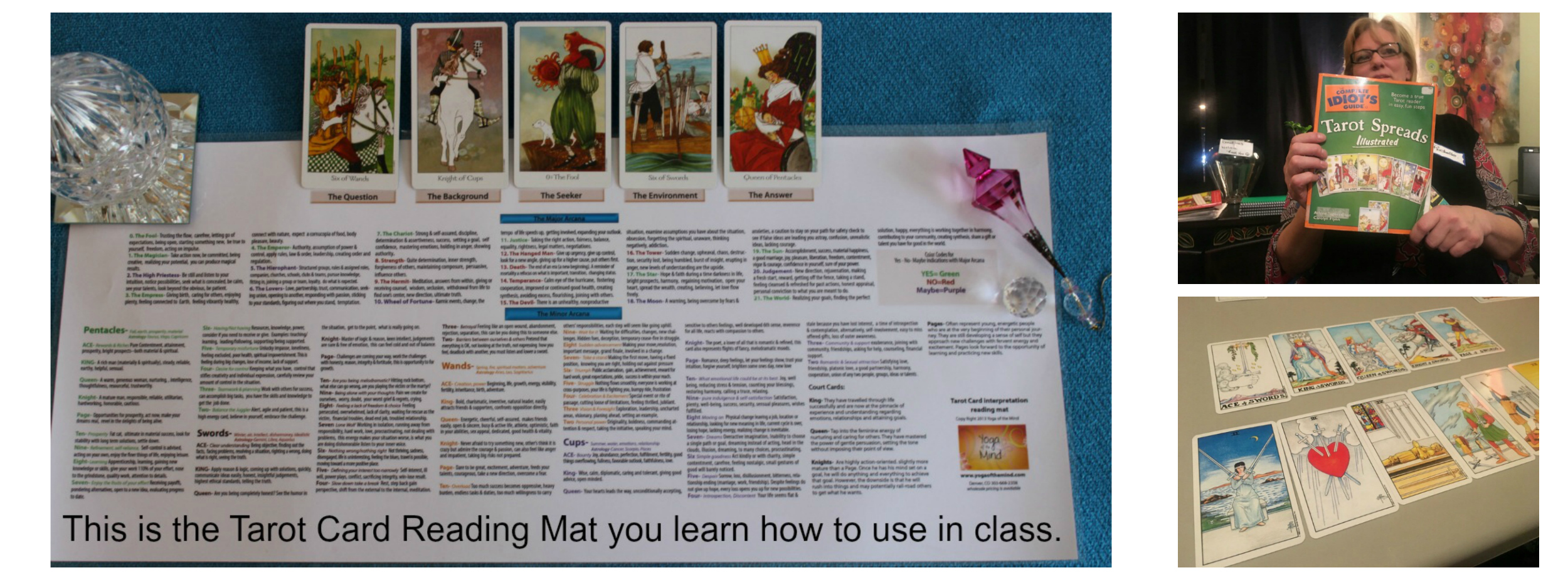 how to learn tarot cards
